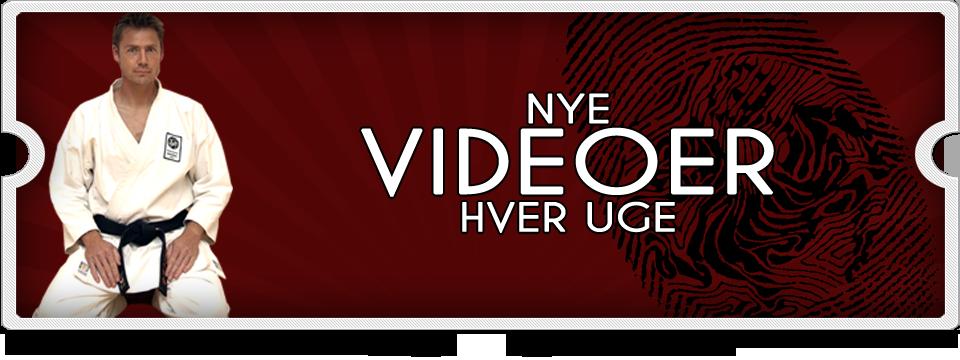 nye karate videoer
